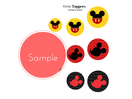 Mickey Mouse Party Printables Free Free Mickey Mouse Party Printables Baby Shower Ideas Themes Games
