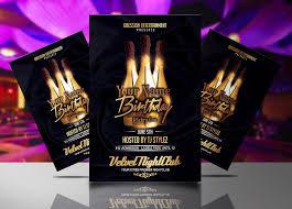 celebration flyer template. Birthday Celebration Flyer Template Streetz Myestro Beats