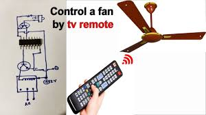Fan And Light Remote Control Circuit Control A Fan And Light By A Tv Remote Et Discover
