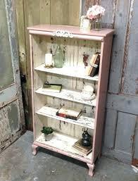 distressed wood bookshelf painted wood bookcase distressed wood bookcase new pink shabby chic bookshelf painted distressed