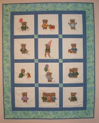 Gallery & Cross Stitched Baby Quilt – family members stitched the 12 blocks and  mailed them to me from all over the country to finish into a quilt. Adamdwight.com