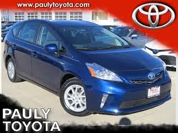 Pre-Owned 2014 Toyota Prius v Two Station Wagon in Crystal Lake ...