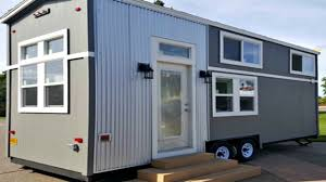 Kitchen Snack Bar Tiny House On Wheels Super Sized Master Loft Spacious Center