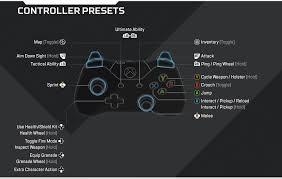 Apex Legends PS4 Controls