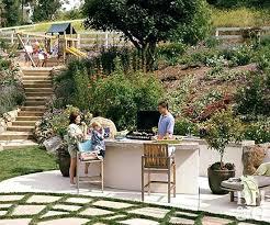 Custom Outdoor Kitchen Designs Beauteous Outdoor Kitchen And Bar Area Patio Ideas Kitchens Finit