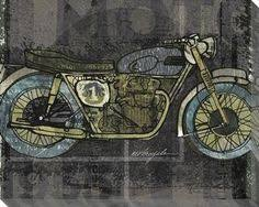 motorcycle wall art on motorcycle wall art sculpture with motorcycle wall art 12x24 print of motorcycle custom made for