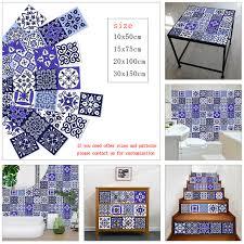 white blue strip ceramic tiles wall