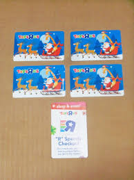 toys r us credit card lot 4 scene no value 1 of 2only 1 available