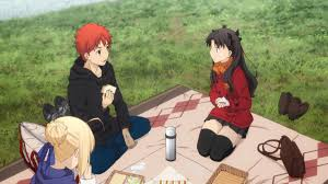 fate stay night unlimited blade works ending song fate stay night unlimited blade works 12 cuteness and a shocking