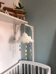 diy crib mobile hanger pernilla nolåkers
