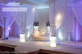 Curtains Wedding Decoration Sanimar Decor Studio