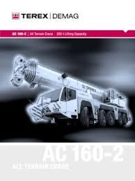 Terex Demag Ac 160 2 Specifications Cranemarket