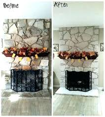 can you paint a fireplace how to paint a stone fireplace can you paint stone fireplace