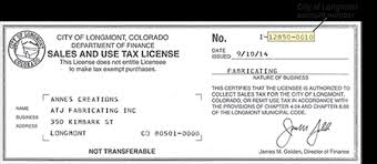 And Tax Payment Of Use Colorado Return Filing Longmont City Sales Online