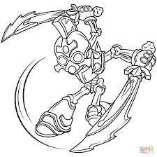 Small Picture Skylanders Giants Chop Chop coloring page Free Printable