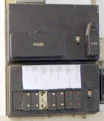 fuses blowing electrical equipment pre 1950s britain a fuse box mid 20th century uk