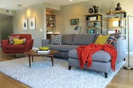 fluffy rugs for living room rug living room mid century modern living room with bookcases fluffy rugs for living room