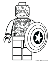 Captain America The Winter Soldier Coloring Pages Captain Winter