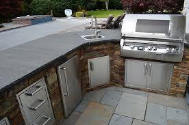 outdoor kitchen countertop material 3808 with countertops prepare 10