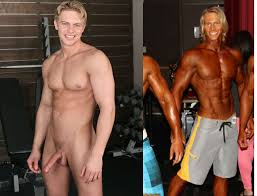 Gay pornstar before and after