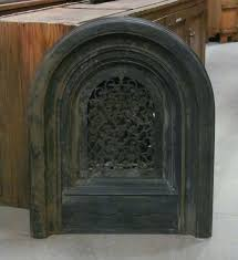 antique fireplace cover summer cover antique fireplace doors