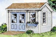 Small Picture Pictures of Garden Sheds from the Project Planner Shed Design Software