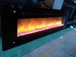 white pebbles electric fireplace