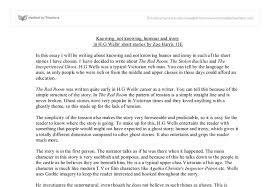 knowing and not knowing humour and iriony in h g wells short  document image preview