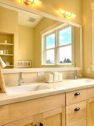 vanities arranging double vanity light fixture white mirror idea for bathroom design double sink double