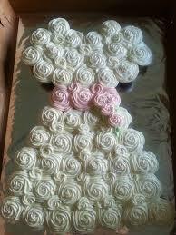The 25 best Wedding dress cupcakes ideas on Pinterest