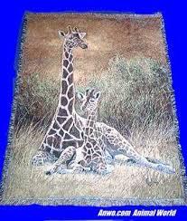 Giraffe Blankets Throws