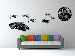star wars wall decor large removable the clone decals stickers