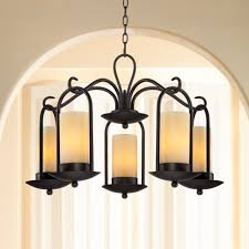 outdoor chandelier onyx faux stone candle 30 icvdipz