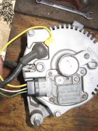 3g alternator install pictures ford truck enthusiasts forums now onto the wiring do not let it intimidate you you have 3 wires a s and i coming out of the voltage regulator starting a the yellow wire