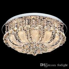 modern patented led crystal round ceiling chandeliers light k9 crystal pendant chandelier ceiling lamps hotel villa warm chandeliers bathroom chandeliers