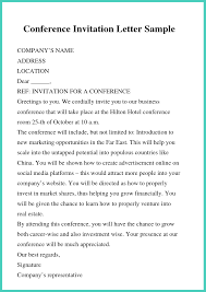 Free Business Letter Samples 5 Free Example Business Letter Of Invitation Templates