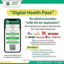 """หมอพร้อม - หมอพร้อมเปิดตัว """"Digital Health Pass""""  รองรับการเดินทางภายในประเทศร่วมกับ 7 สายการบิน สามารถใช้งานได้แล้ววันนี้  ทั้งบน LINE OA และ Application Q: Digital Health Pass คืออะไร A: Digital  Health Pass คือ เอกสารรับรองสุขภาพอิเล็กทรอนิกส์ ในรูปแบบ ..."""