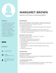 Scholarship Resume Template Enchanting Blue Sidebar Scholarship Resume Templates By Canva