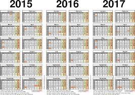 free year calendar 2015 two year calendars calendar