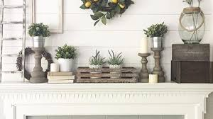 Candle Accent Mantel