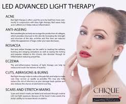 Blue Light Therapy Wavelength Led Advance Light Therapy Chique Cosmedical Skin Body