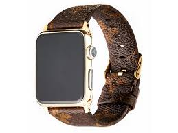 goosuu for louis vuitton apple watch band leather iwatch strap 38mm 42mm sport leisure style iwatch