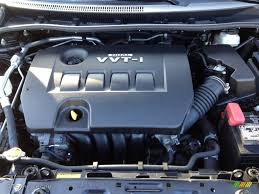 2010 Toyota Corolla S 1.8 Liter DOHC 16-Valve Dual VVT-i 4 ...