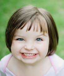 Dětské Holčičí účesy Krátké Vlasy