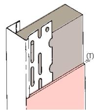 plasterboard edge beads drywall bead gyproc plastic