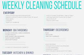 Obsessed Printable Household Chore List Insightweb