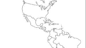 North And South America Blank Map Texpertis Com Latin America Map Blank Blank Political Map