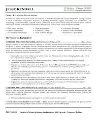 Clientations Manager Resume Example Banking Resumes Madrat