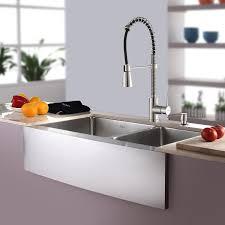 kraus stainless steel sinks. Unique Kraus Kraus KHF20333KPF1612KSD30SS 33 With Stainless Steel Sinks E
