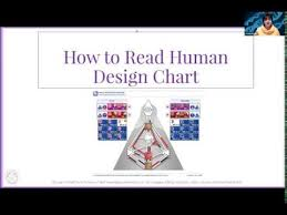 How To Read A Human Design Chart Youtube